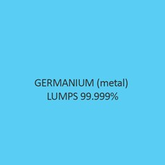 Germanium (Metal) Lumps 99.999 Percent