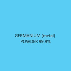 Germanium (Metal) Powder 99.9 Percent