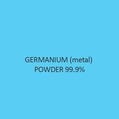 Germanium (Metal) Powder 99.9 Percent