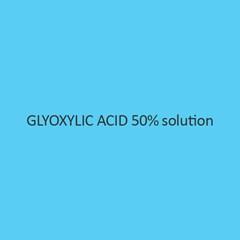 Glyoxylic Acid 50 Percent Solution