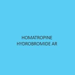 Homatropine Hydrobromide AR