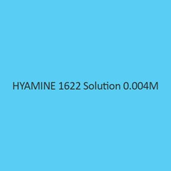 Hyamine 1622 Solution 0.004M