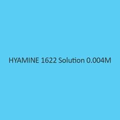 Hyamine 1622 Solution 0.04M
