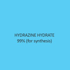 Hydrazine Hydrate 99 Percent (For Synthesis)