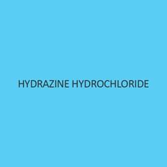 Hydrazine Hydrochloride