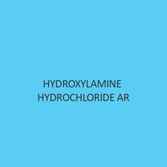 Hydroxylamine Hydrochloride AR