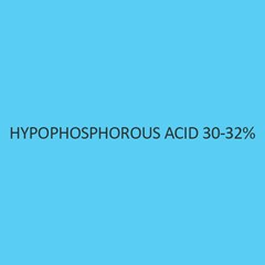 Hypophosphorous Acid 30 to 32 Percent