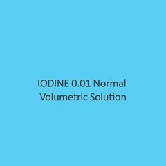 Iodine 0.01 Normal Volumetric Solution