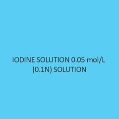 Iodine Solution 0.05 Mol Per L (0.1N) Solution For 500Ml