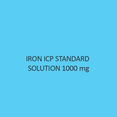 Iron ICP Standard Solution 1000Mol Per L in Nitric Acid