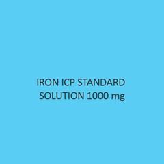Iron ICP Standard Solution 1000Mol Per L in Nitric Acid