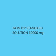 Iron ICP Standard Solution 10000Mol Per L in Nitric Acid