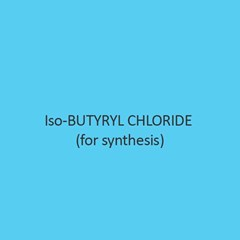 Iso Butyryl Chloride For Synthesis