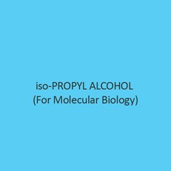 Iso Propyl Alcohol (For Molecular Biology)