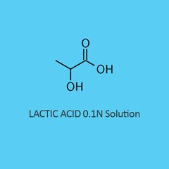 Lactic Acid 0.1N Solution