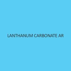 Lanthanum Carbonate AR (Hydrate)