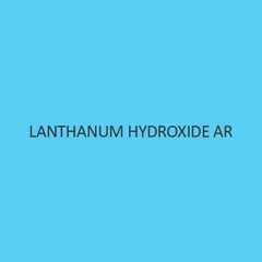 Lanthanum Sulphate (Hydrate)