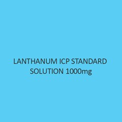 Lanthanum ICP Standard Solution 1000mg Per L in Nitric Acid