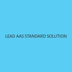 Lead AAS Standard Solution