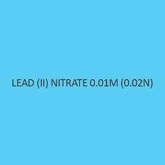 Lead (II) Nitrate 0.01M (0.02N)