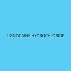 Lignocaine Hydrochloride (Monohydrate)