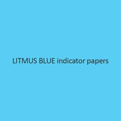 Litmus Blue Indicator Papers