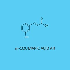 M Coumaric Acid AR (3 Hydroxycinnamic Acid)