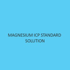 Magnesium ICP Standard Solution 10000mg Per L in Nitric Acid