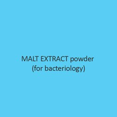 Malt Extract Powder (For Bacteriology)