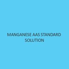 Manganese AAS Standard Solution