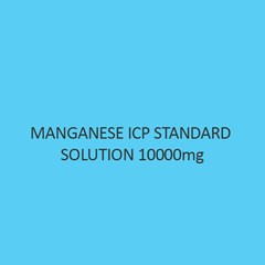Manganese ICP Standard Solution 10000mg Per L in Nitric Acid