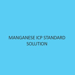 Manganese ICP Standard Solution 1000mg Per L in Nitric Acid