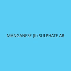 Manganese (II) Sulphate for molecular biology