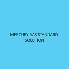 Mercury AAS Standard Solution