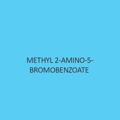 Methyl  2 Amino 5 Bromobenzoate