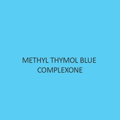 Methyl Thymol Blue Complexone