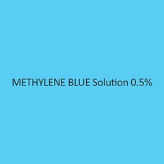 Methylene Blue Solution 0.5Percent