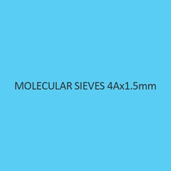 Molecular Sieves 4Ax1.5Mm