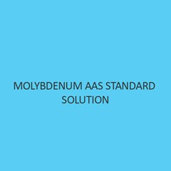 Molybdenum AAS Standard Solution