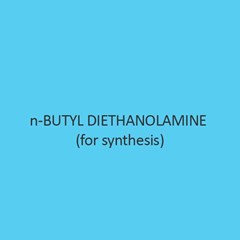 N Butyl Diethanolamine For Synthesis