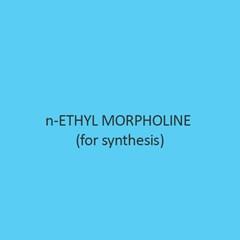 N Ethyl Morpholine (For Synthesis)