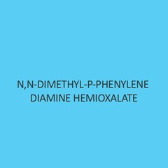 N N Dimethyl P Phenylene Diamine Hemioxalate