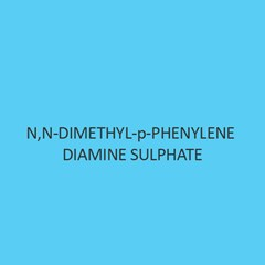N N Dimethyl P Phenylene Diamine Sulphate
