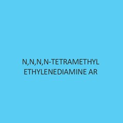 N N N N Tetramethyl Ethylenediamine AR
