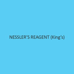 NesslerS Reagent (King S)