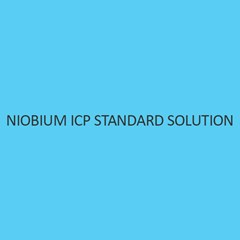 Niobium ICP Standard Solution 1000Mg Per L In Water