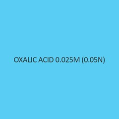 Oxalic Acid 0.025M (0.05N) Standardized Solution