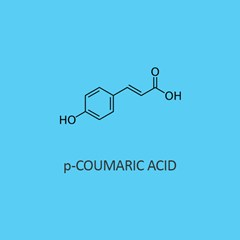 P Coumaric Acid (Trans 4 Hydroxycinnamic Acid)