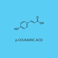P Coumaric Acid (Trans 4 Hydroxycinnamic Acid)