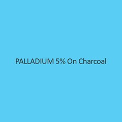 Palladium 5 Percent On Charcoal Assay
